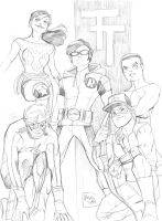 08092014 Teen Titans by guinnessyde