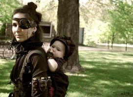Steampunk mama by ONE-Photographie