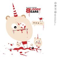 Bloody bear by emi-Chen
