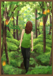 Forest by MoonlitRainbow