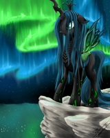 Queen Chrysalis by ROBBERGON