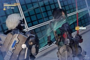 Blade Mode Raiden Vs. Jetstream! by El-Fett