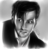 David Tennant by Tinani