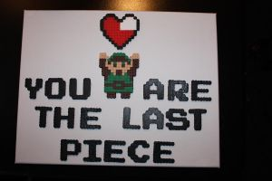 Your The Last Piece Perler by Neo-Shadow-Bat