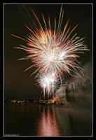 Waterfront Fireworks by 51ststate