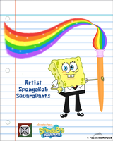 SpongeBob in our UST- CFAD Uniform by Allenare