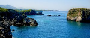 Cliffs of Niembro by annamarcella24