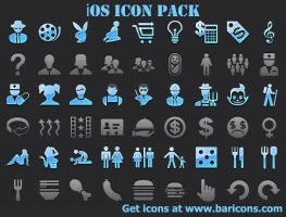 iOS Icon Pack by shockvideoee