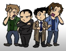 SPN S9: Adventures in Babysitting by blackbirdrose