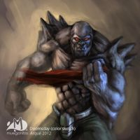 Doomsday Color Sketch by Arqueart