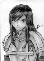 *Erza Sxarlet(Shaded)* by AniMusision