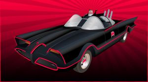 Classic Batmobile by cpricecpa