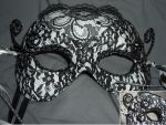 Commission: Black Lacey Mask by KingdomOfSeven