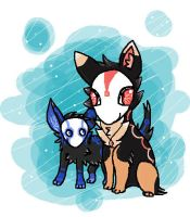 ::Brother and Sister:: by WolvesDestinyBlood