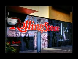 Rolling Stone Mural by dx