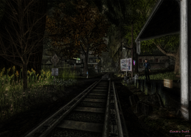Missing Mile Train Depot by Ameesa