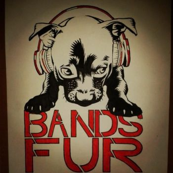 Bands Fur Animals logo by armstrong2112