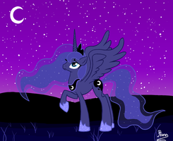 Princess Luna MLP by Elana-Louise