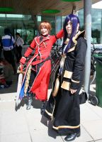 Animecon 2011: Ace and Julius by Tuikkis
