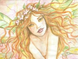 A fae by Liliane