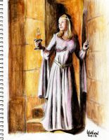 Milady-color pencil by m-a-c-h-o