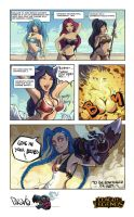 League of legends Miss by o0dzaka0o
