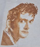 David Tennant X Stitch by aragornsgirl333