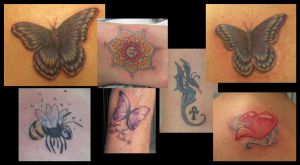 A collection of tattoos by Joytoy