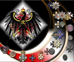 Prussian Medals and Orders by finalverdict