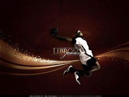 LeBron James by witnessGFX