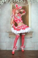 Cure Melody Cosplay by BabyClassicSonic