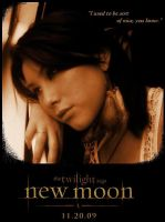 Leah New Moon Poster by Hawkeye1222