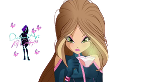 World of Winx Flora Couture - PNG by Gallifrey93