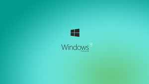 Windows 9 - Wallpaper HD Concept by danielskrzypon