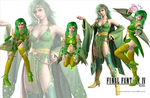 Rydia From Final Fantasy IV by Marcelievsky