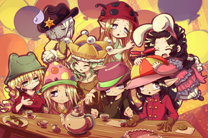 Silly Hat Tea Party by Arenheim