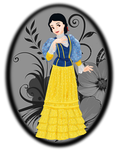 1900 Snow White by FalseDisposition