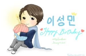 Happy Birthday Sungmin! 2013~ by Lanaleiss