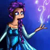 Alice as Elsa(Let It Go) by coilet