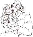 Melliene and Deo by The-Zombie-Cat