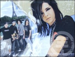 Tokio Hotel Wallpaper by Vampire-FateMarie