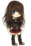 Commission: Chibi Eva by cherriuki