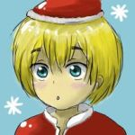 Armin christmas icon by melody-of-lacie