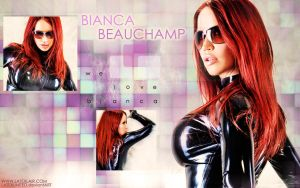 We Love Bianca Wallpaper by UniqueOneDesigns