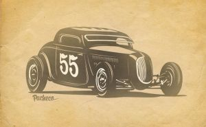 Bonneville Ford by PachecoKustom