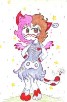 pencil pen drawing of miss Kitty  by Kittychan2005