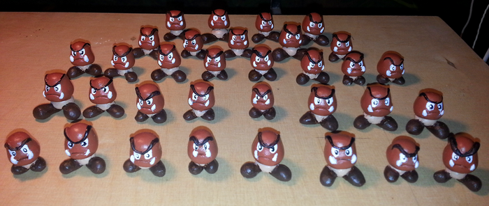 Goomba Army! by Masae