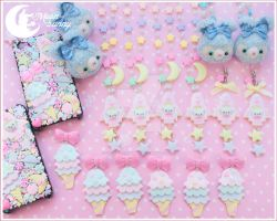 Cosmic cutie collection by Moon Bunny by CuteMoonbunny