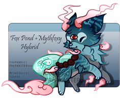 :MythFoxyPond for Auction(12 hours): by PrePAWSterous