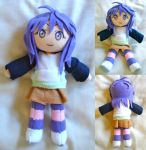 Rosario Vampire Shirayuki Mizore Plush by dollphinwing